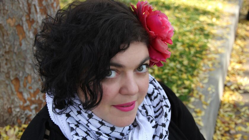 "Randa Jarrar, author of ""Him Me Muhammad Ali."