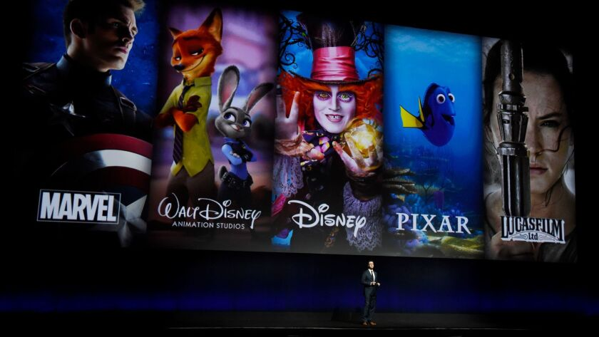 Dave Hollis is executive vice president of theatrical distribution for Walt Disney Studios Motion Pictures.