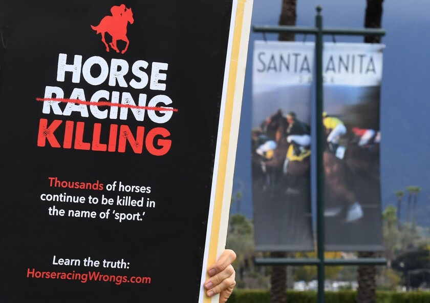 Santa Anita protests