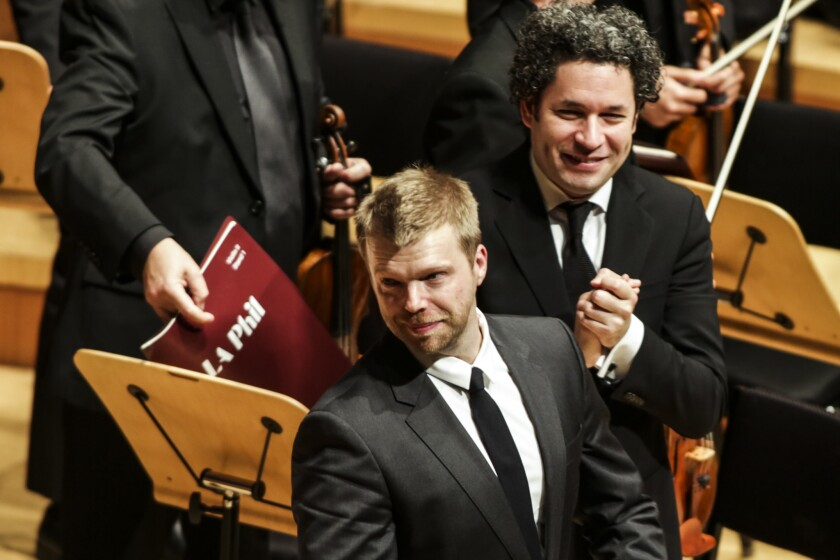 Grammy nominations in classical go to the L.A. Phil, Gustavo Dudamel and 'Sustain'