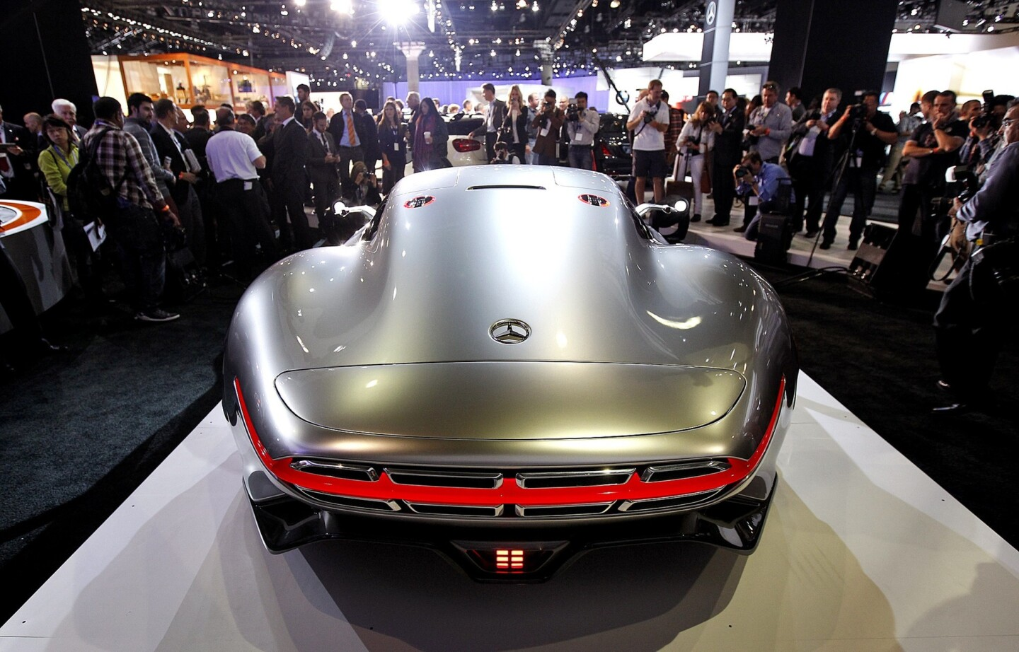 The Mercedes-Benz Vision Gran Turismo concept at the Los Angeles Auto Show.