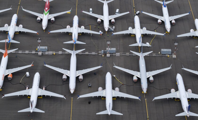 Grounding of Boeing 737 MAX planes extended as new law in software is found