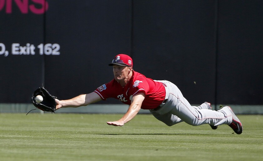 Angels score six runs in fifth inning of 10-2 win over Reds in spring game