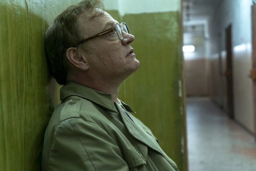 "Jared Harris as Soviet scientist Valery Legasov in the HBO mini series ""Chernobyl."""