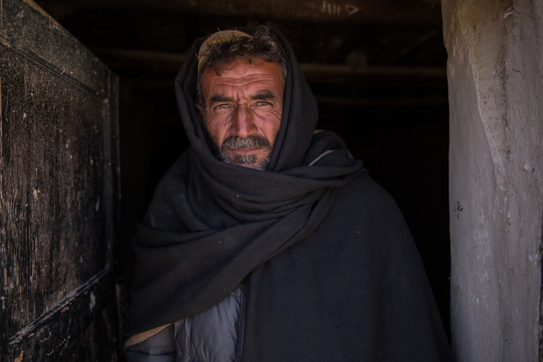 Musa Jan, a tribal elder from Qalat, Afghanistan