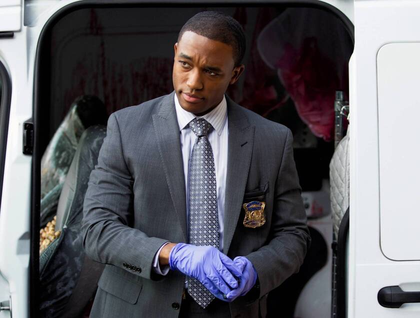 "Lee Thompson Young in a scene from the TNT series ""Rizzoli & Isles."" Los Angeles police say his death is being investigated as a suicide."