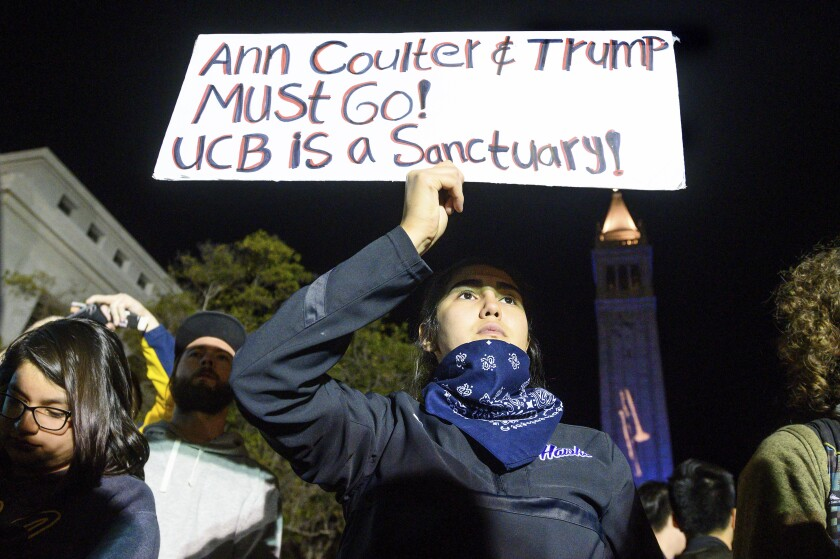Coulter Protest