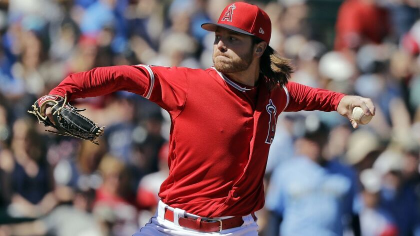 Angels starter Dillon Peters did not give up a run against the Seattle Mariners on Sunday.