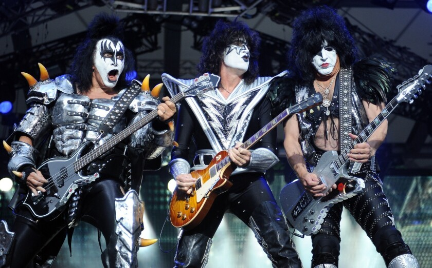 KISS off for Rock Hall of Fame induction ceremony performance