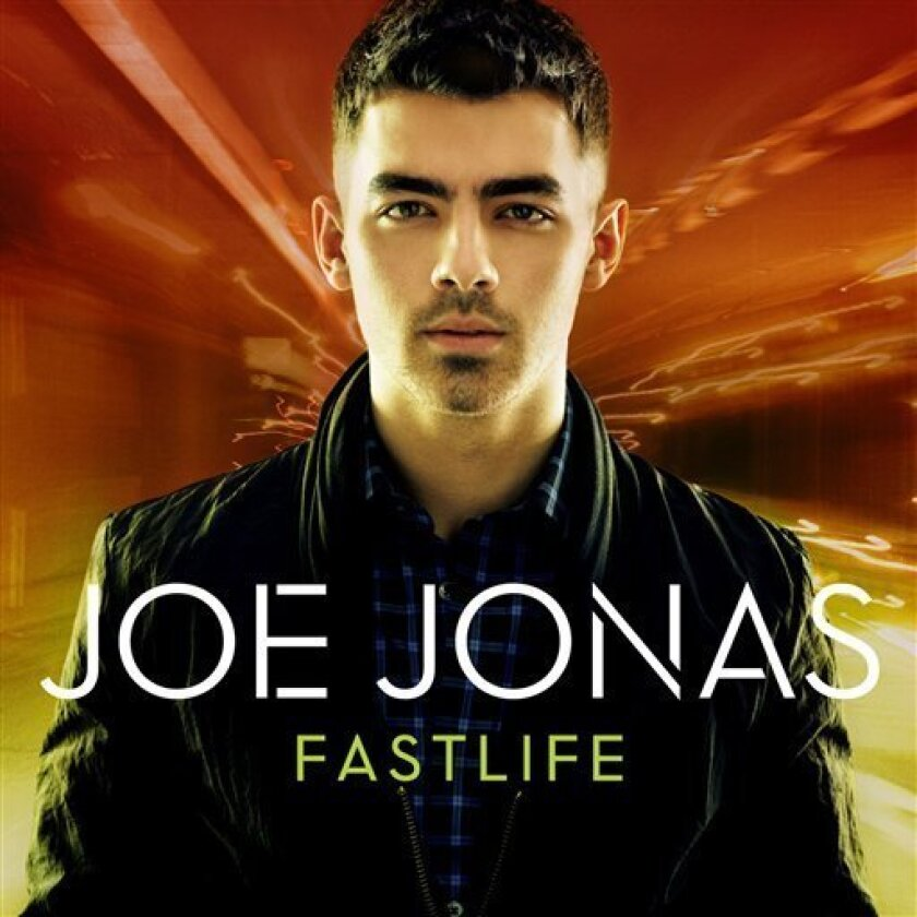 "In this CD cover image released by Hollywood Records, the latest release by Joe Jonas, ""Fastlife,"" is shown. (AP Photo/Hollywood Records)"