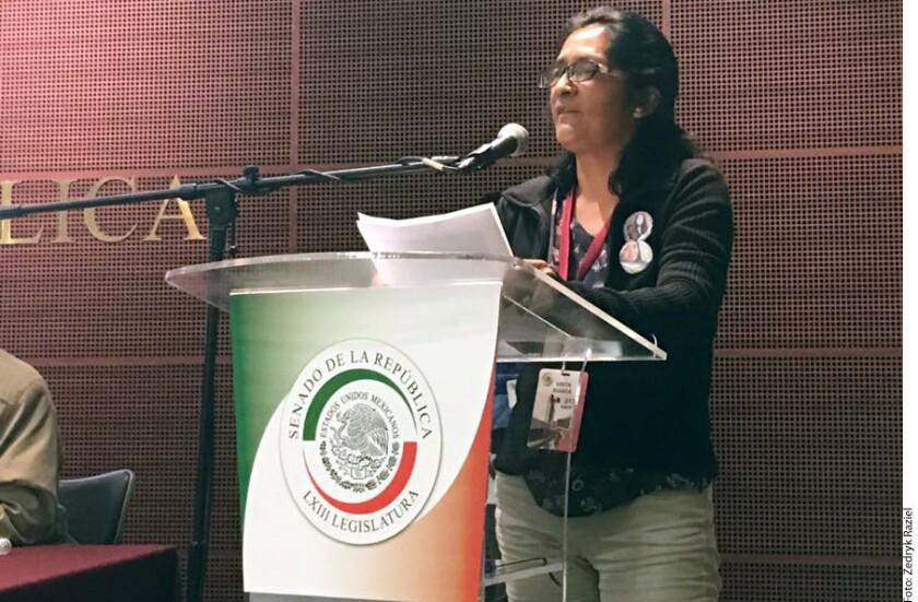 Lorena Gutiérrez no pudo desenterrar el cuerpo de Fátima, su hija de 12 años. Fue el dolor, la falta de valor, confiesa. A tres años del feminicidio, cometido en el municipio mexiquense de Lerma, no ha podido ni ver las fotos que le entregaron los peritos. La horrorizó el relato forense.