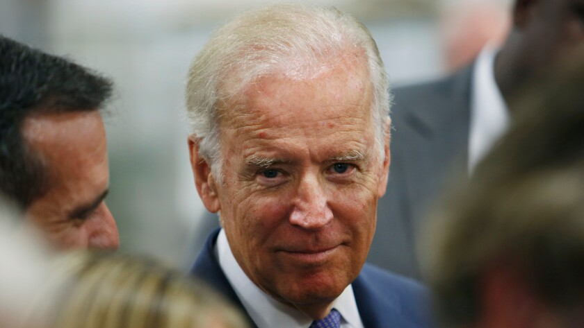 Clinton's team worried that Vice President Joe Biden would jump into the presidential race.