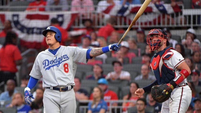 Game 4: LA Dodgers at Atlanta