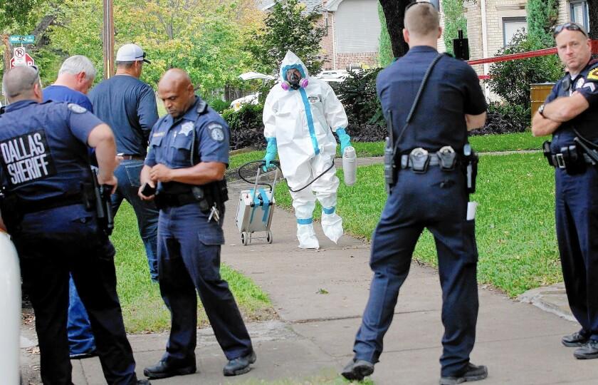 New Ebola case in Dallas