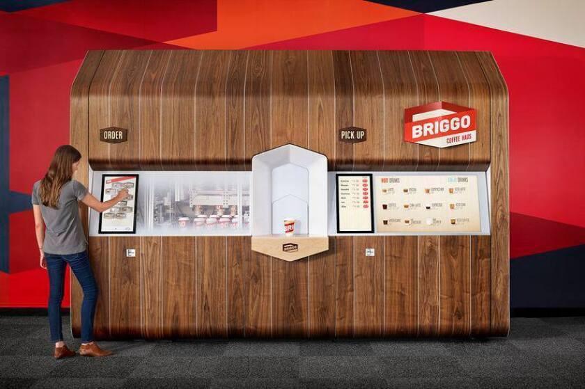 Briggo robotic baristas