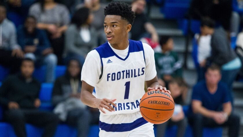 Jaylen Hands will lead Foothills Christian against Mater Dei Catholic in the Open Division quarterfinals at 7 p.m. Saturday at Cuyamaca College.
