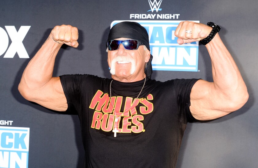 Column: Hulk Hogan hopes to return for one final WWE match at WrestleMania