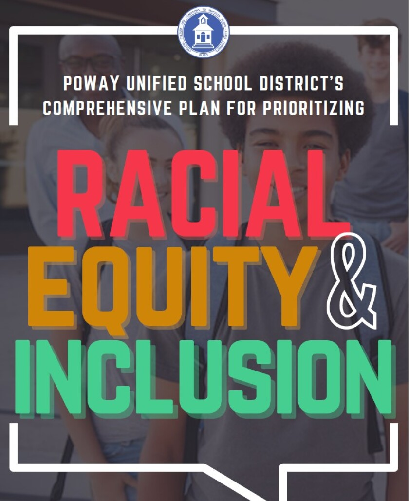 PUSD's racial equity and inclusion plan.