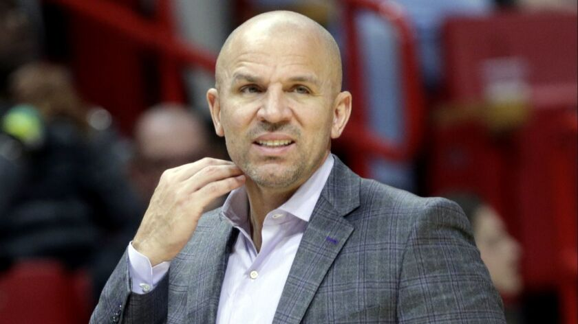 Jason Kidd comes to the Lakers with some baggage.