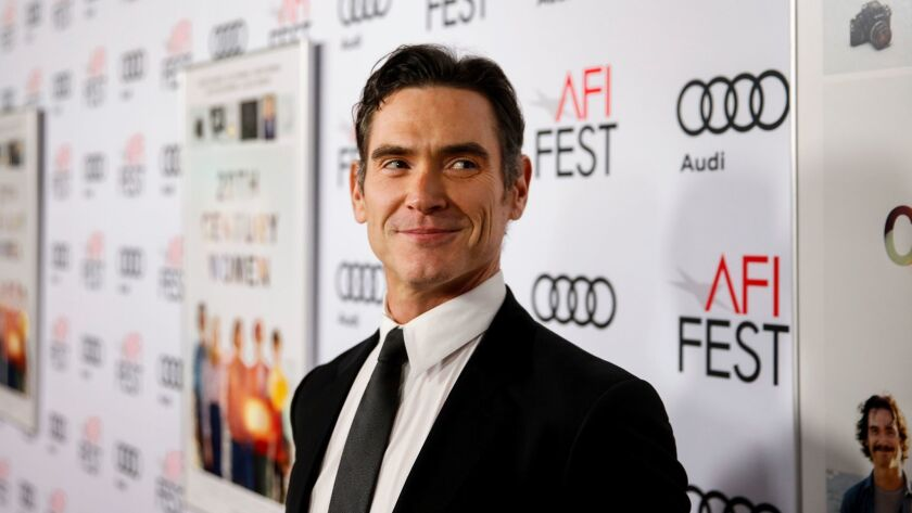 "Actor Billy Crudup on the red carpet for the premiere of ""20th Century Women"" in Hollywood on Nov. 16."
