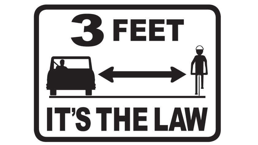 The Three Feet for Safety Act, passed last year by the Legislature, is the latest sign of an important cultural shift in a state famously dominated by automobiles.