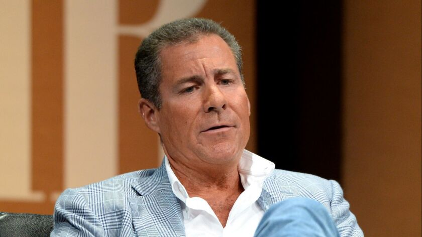 HBO Chairman and CEO Richard Plepler, shown in 2014, stepped down on Thursday ahead of a restructuring.