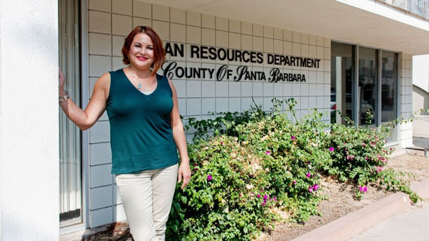 Maya Barraza is Santa Barbara County's manager for employee benefits.