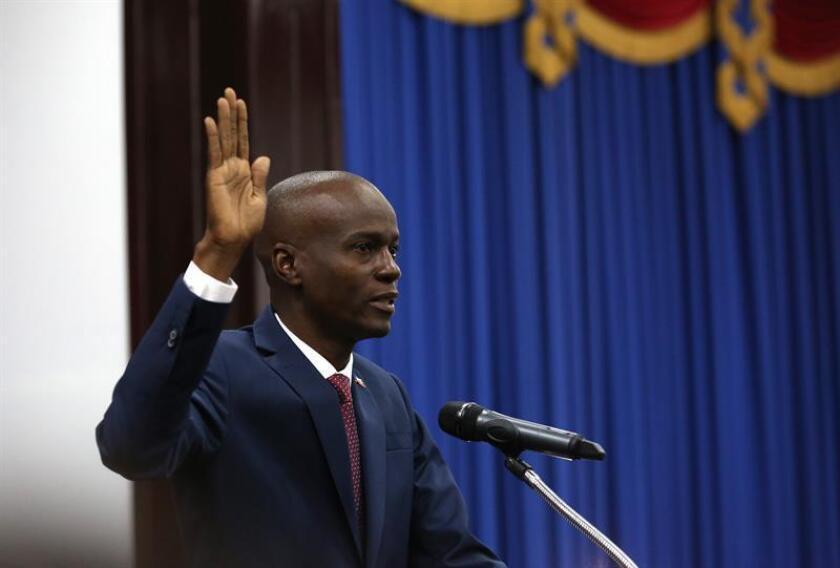 """El Gobierno mexicano felicitó al nuevo presidente de Haití, Jovenel Moise, y confió en que los actores políticos de esa nación """"unirán sus esfuerzos en favor del desarrollo del país"""". EFE"""