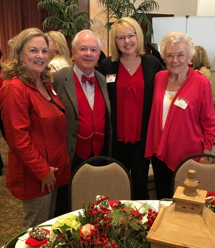 Sue Higgins, Rev. Dr. Jack Baca, Kim Anton, Nell Anton