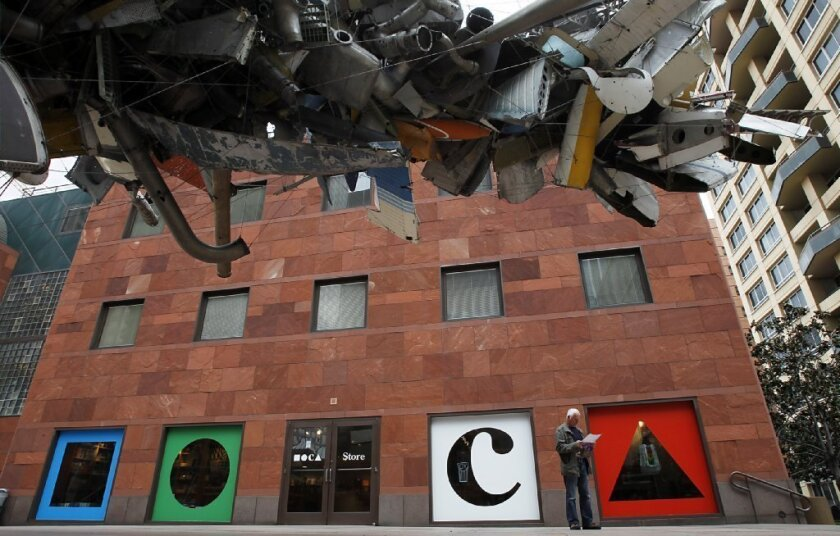 A statement from the MOCA board of trustees asserts its desire that the museum remain independent.