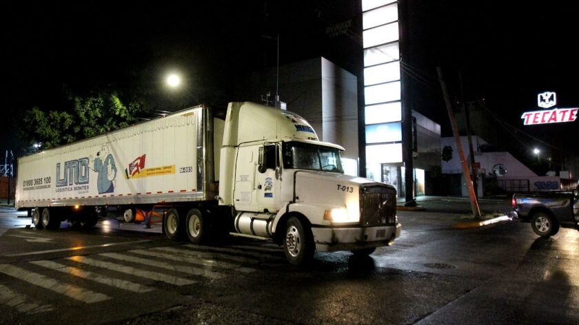 Saga of truck filled with bodies of homicide victims sparks