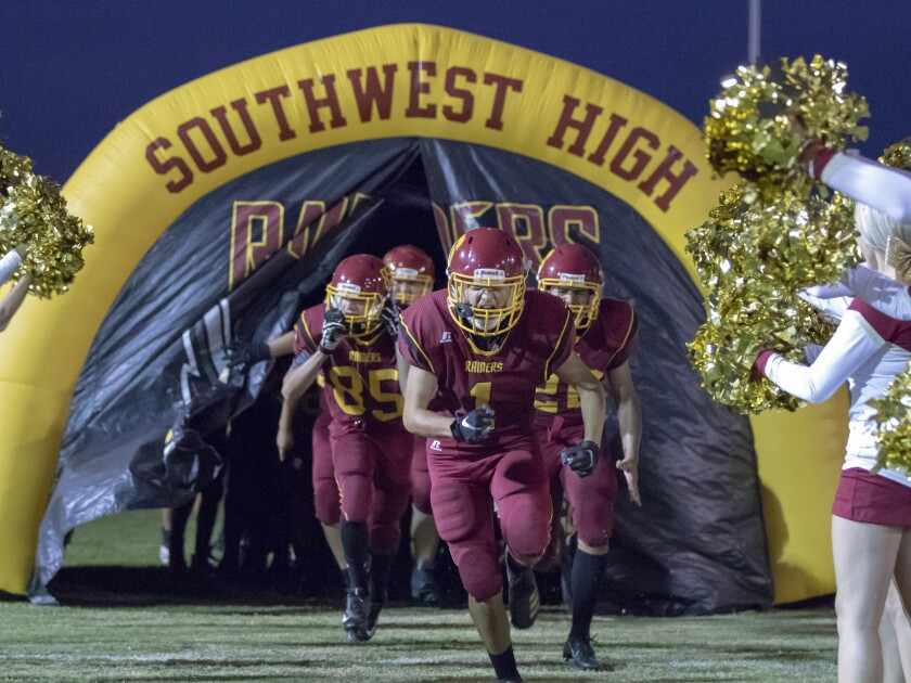 San Diego Southwest football won't take the field in 2021, at least the carsity team won't.