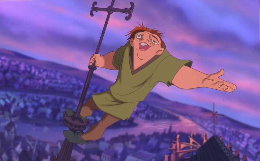 """The stage musical version of """"The Hunchback of Notre Dame"""" is based on the 1996 Disney animated movie."""