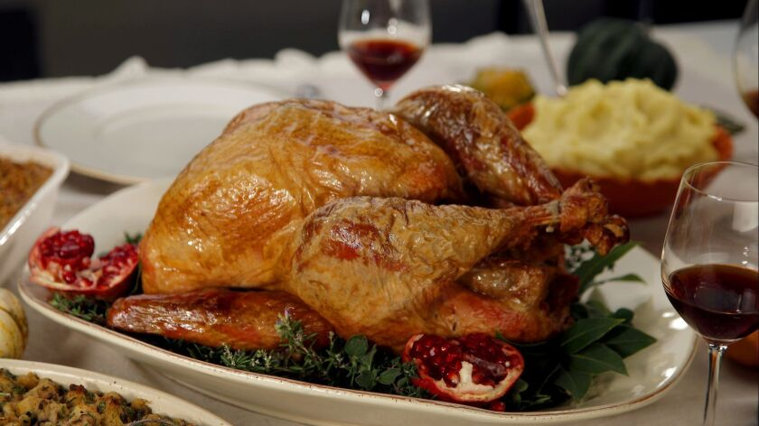 LOS ANGELES, CA.,OCTOBER 25, 2017--recipes for 7 classic Thanksgiving dishes: Amy's Easy Turkey with