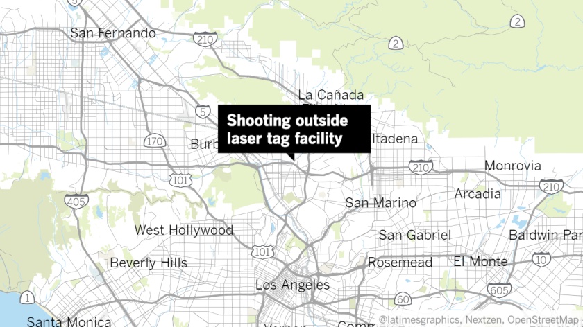 Location of Glendale shooting