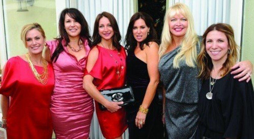 """The Real Housewives of RSF"" Kristen Spector, Robin Wright, Pamela Dirkes, Rachel Douglass, Cindy Moran, Jennifer Davis (Photo: Jon Clark)"