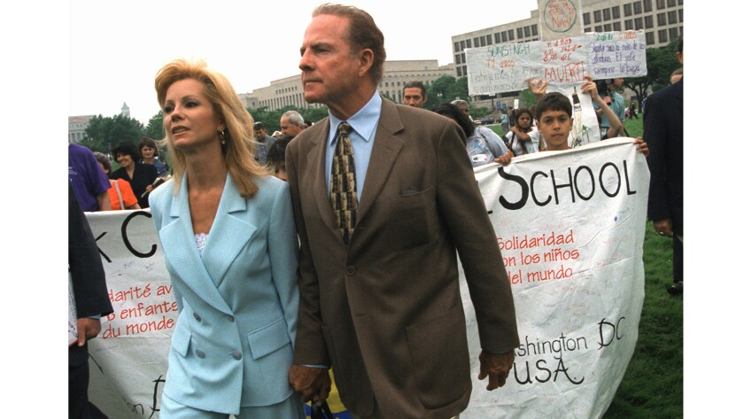 As a couple, Kathie Lee and Frank Gifford took scandals in stride