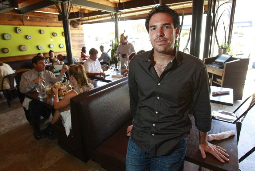 Arturo Kassel, a managing partner at Whisknladle in La Jolla, said he will end tipping at his restaurants next year and instead add a service charge to checks as a way of managing his increased labor costs stemming from a series of minimum wage increases in the city of San Diego.