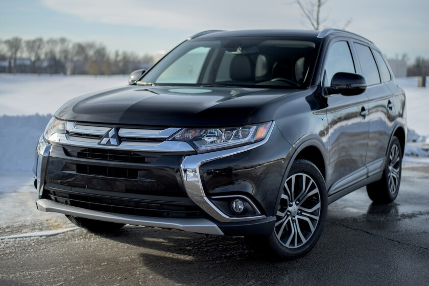 Mitsubishi Motors Corp. is recalling 161,167 vehicles, including the 2016 Outlander, in the U.S. and Canada because electric relays can cause the engine to stall or overheat.