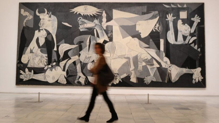 'Pity and Terror. Picasso's Path to Guernica' Exhibition Opening in Madrid