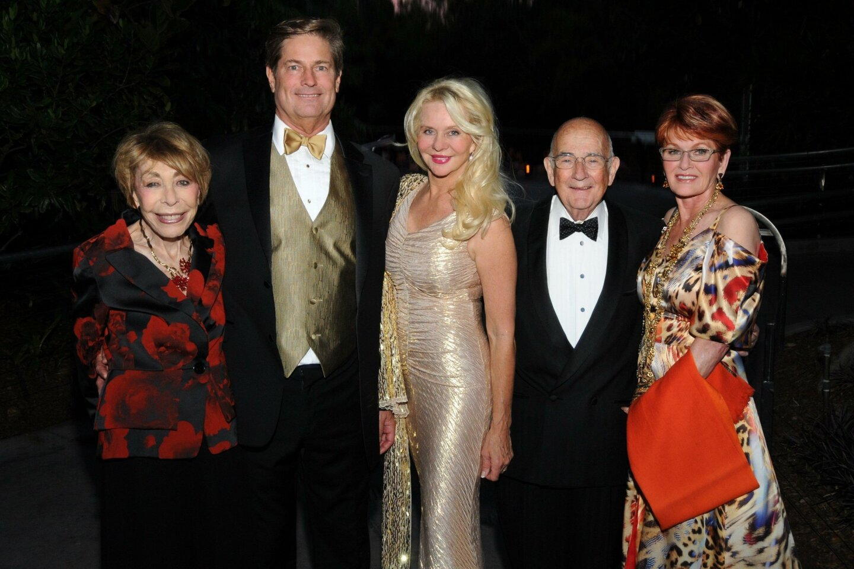 Miriam Summ, Don and Kathryn Vaughn, Gene Summ, Jo Ann Kilty