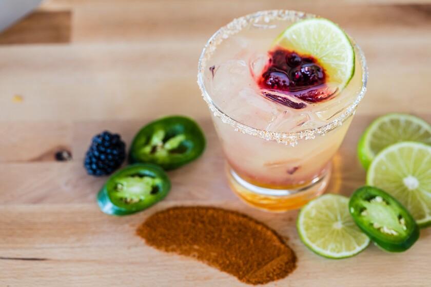 Sip on the Spanish Margarita at 20|Twenty in Carlsbad.