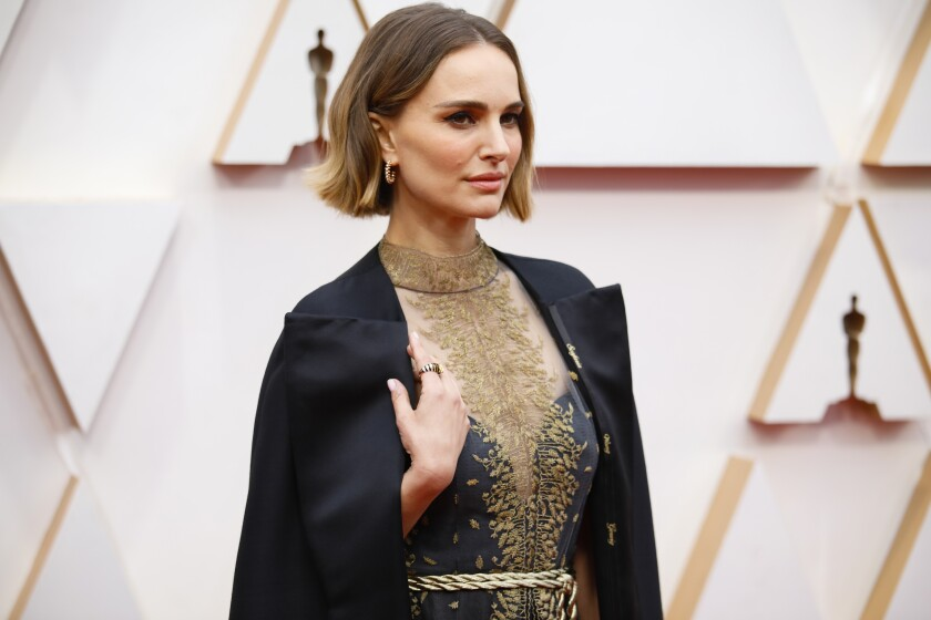 Natalie Portmanarriving at the 92nd Academy Awards on Feb. 9.