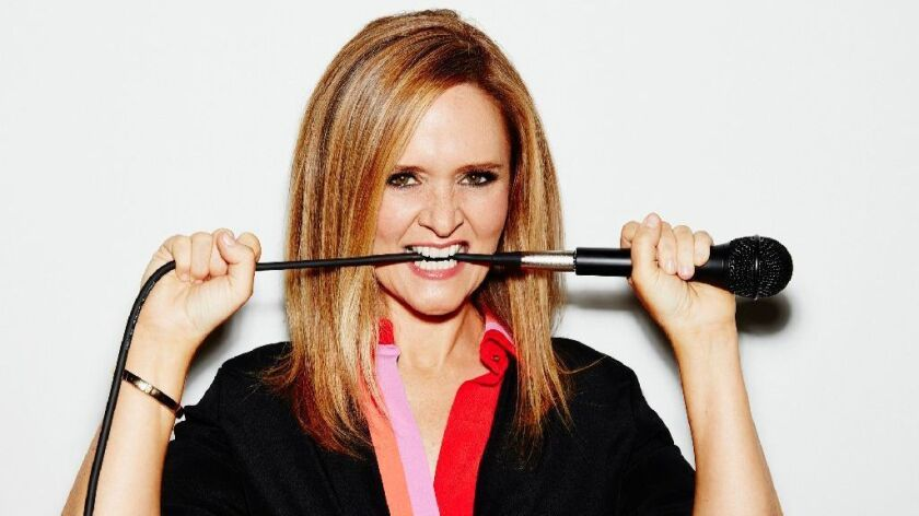 "Samantha Bee of ""Full Frontal With Samantha Bee."""