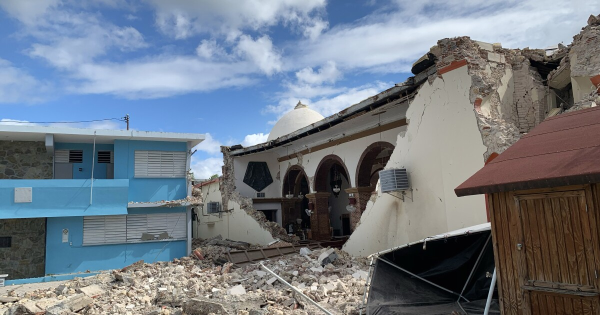 Kalifornien sendet Katastrophe die Hilfe von Spezialisten in Puerto Rico erholen von Erdbeben