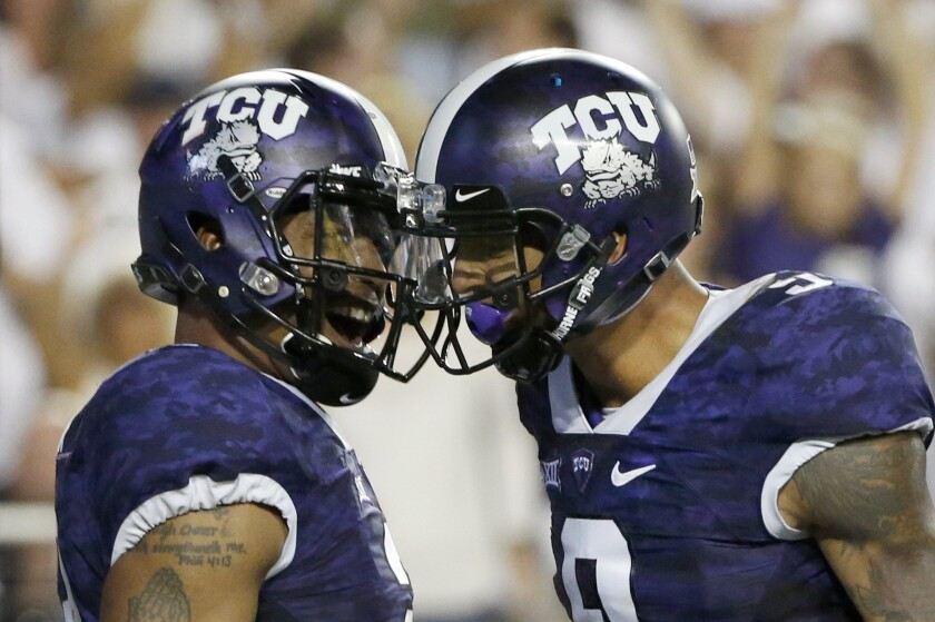 TCU quarterback Trevone Boykin and Josh Doctson are must-watch TV