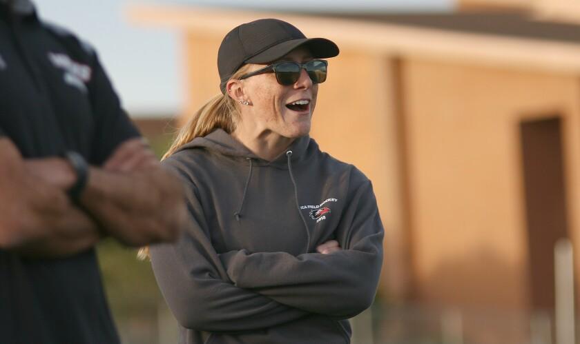 Canyon Crest Head Coach Kiana Duncan