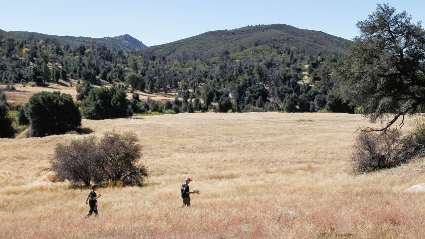 The California State Parks Foundation is organizing a volunteer work party for Jan. 20 at Cuyamaca Rancho State Park.