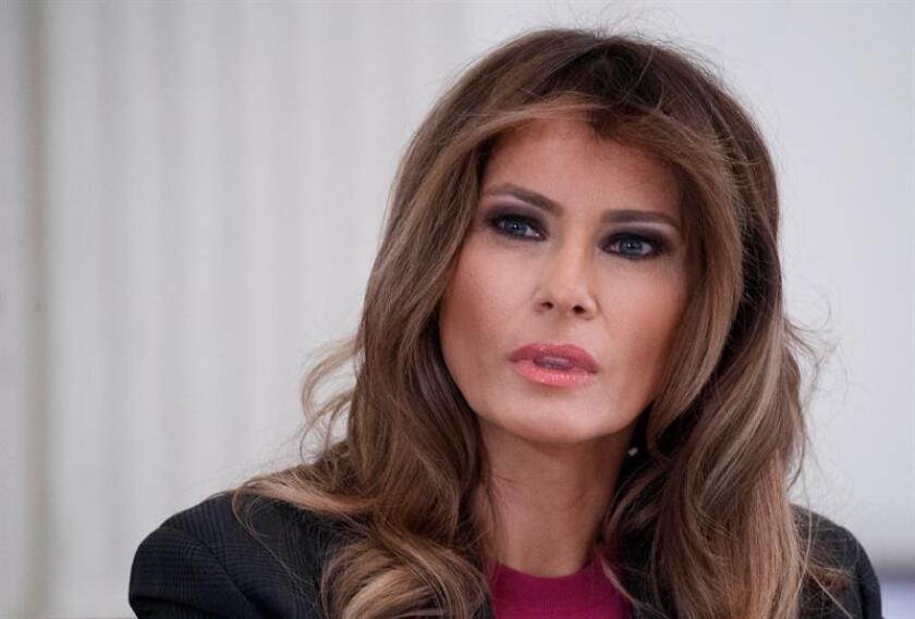 La primera dama estadounidense, Melania Trump. EFE/Archivo