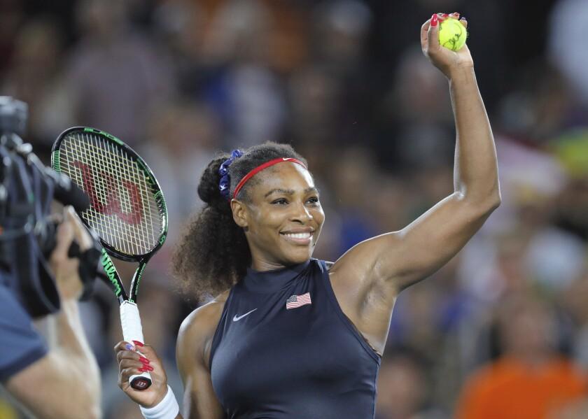 APphoto_Indian Wells Serena Tennis
